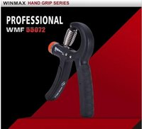 Wholesale New Adjustable A Type Hand Grip Gym Equipment Adjustable KG to KG Strength Fitness Forearm Workout Exerciser Training Heavy Hand Grip