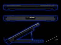 35 ZSW DELL radiador portátil 15.6 pulgadas de ventilador de refrigeración de aire mudo asus, cargador portátil HP portador de envío gratuito