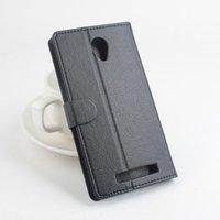 achat en gros de jiayu phone-Flip PU Housse en cuir pour Jiayu S3 S3 plus Housse Avec Stand Téléphone Bag Style Avec Porte-Carte