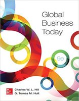 Wholesale Global Business Today th Edition by Charles W L Hill Author G Tomas M Hult Author ISBN
