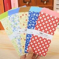 Wholesale Paper Envelope Cute Flower Style Envelopes Vintage Korean Style For Card Scrapbooking Gift