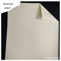 banknote paper acid types - currency printinng paper linen feel starch free acid free waterproof types a4 size white color sheets banknote paper