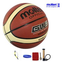 Wholesale original molten basketball ball GW7 GW6 GW5 NEW Brand High Quality Genuine Molten PU Material Official Size7 Size Basketball
