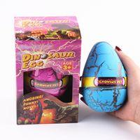 animal pets games - 12 cm Dinosaur egg hatchimal eggs Animals eggs growing pet hatching out animals novelty games w gift box