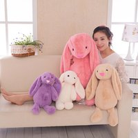 Wholesale Easter Decoration cm Easter Bunny short Plush Rabbit toys The Easter Bunny gifts for children Baby calm Plush toys