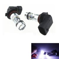 Wholesale 2Pcs White H10 K W HB3 Cree LED Projector Fog Driving Light Bulb DC V V CLT_03A