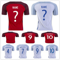 beckham kit - England Soccer Jersey football Shirt WALCOTT KANE Rooney STERLING VARDY BECKHAM HENDERSON BARKLEY RASHFORD football Shirts Kit