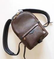 Wholesale 2017 Genuine leather fashion famous back pack shoulder bag handbag presbyopic mini package messenger bag mobile phonen purse