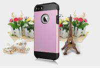 Precio de Iphone bling la rosa-Pink Pink bling bling Armadura duro PC + Soft TPU Hybrid Back Cover caso para iPhone 7 más - SHINE PINK precio de fábrica