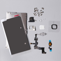 Wholesale For iPhone C LCD Touch Screen Digitizer Metal Bracket Front Camera Ear Speaker Plate home button Repair Parts