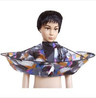 Wholesale Kids Children Haircutting Apron Hairdressing Graffiti Apron Bath Kids Cleaning Cape Your Best Choice