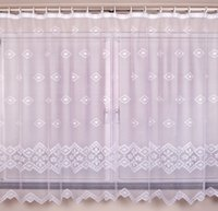 Wholesale Garden new polyester lace window sheer curtains with tape drop flower lace rose curtains big net sheer curtains Children curtain