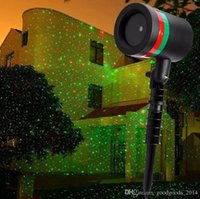 Wholesale Outdoor Lawn Projector Light Sky Star Laser Spotlight Light Shower Landscape Park Garden Lights Christmas Party Decorations b539