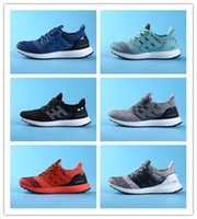 Wholesale 2017 new boost Discount Cheap Runner Primeknit Sales White Red Blue NMD Running Sports Shoes Running Boost with Box