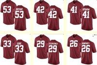 Baseball baseball alabama - Men s Bryant Lacy Upshaw Gore Fitzpatrick Humphrey NCAA Alabama Crimson Tide Red Personalized Customized jerseys Cheap
