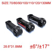 Wholesale full carbon mtb road bike stem bicycle parts degree ud gloss finish mm fit mm fork