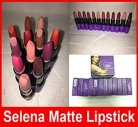 Wholesale High quality New Arrivals hot makeup Selena Dreaming of You Selena matte lipstick color g
