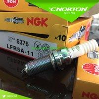 Wholesale Set NGk LFR5A nickel alloy car auto ignition spark plug auto candle