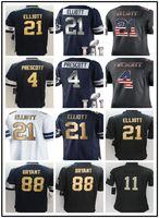 Wholesale 2017 best jerseys Men s dak prescott Ezekiel Elliott Dez Bryant jerse