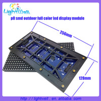 Wholesale 45pcs SMD led module p8 outdoor full color MM outdoor led display p8 module p8 rgb led screen dots