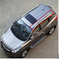 Wholesale Auto Accessories High Quality Aluminum Alloy Roof rack Fit For Hyundai ix35