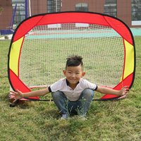 Wholesale Outdoor Portable cm Sports Kids Soccer Goal toy for Children Football Toy Training Equipment