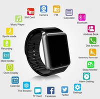 Dispositifs portables intelligents Prix-New Wear Bluetooth Smart Phone Watch avec carte SIM Smartwatch pour IOS Android Wearable Device Phone