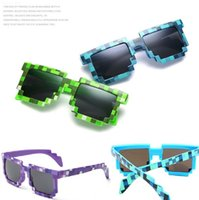 beach games adults - New Pixelated Bit Fashion sunglasses Code Programmer Retro Pixelated Video game Party Mosaic grid Square sunglasses color