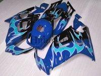 Negro azul CBR600F3 91-94 91 92 93 94 ABS Carenados Kit de Cuerpo Carenado Para honda CBR 600 F3 1991 1992 1993 1994 Juego de carrocería de plástico ABS