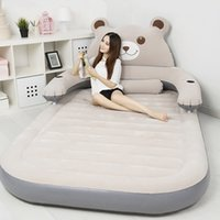 Wholesale 150CM CM CM Giant Folding Bed Mattress Cushion Totoro Bed Beanbag Cartoon Bed Mattresses Double Sleeping Fillings Bed Set