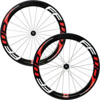 Wholesale Full Carbon Bike Wheels Powerway R36 Hubs Tubular Rims mm Depth mm Width Bicycle Wheelset C Customized Wheel