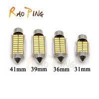 Wholesale Reading Light Canbus mm mm mm mm C5W C10W LED Car Festoon Lights Auto Interior Dome lamp Reading Bulb
