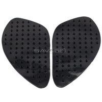 Wholesale For KAWASAKI EX250R NINJA Motorcycle Tank Traction Pad Side Gas Knee Grip Protector Anti slip sticker M Black
