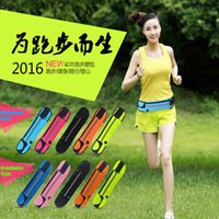 Wholesale Universal inch Waterproof Sports Running Waist Pocket Pouch Belt Case Bag For iPhone Plus S S Samsung Galaxy S7 edge S6 Note