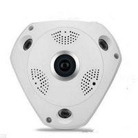 Infrared best ip cctv - Best HD WiFi Panoramic ip Camera Degree Fisheye Smart CCTV Camera Video Storage Remote IR CUT Onvif Audio in P2 Hiseeu
