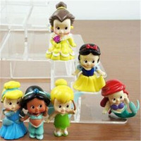 Wholesale Collection Doll Action Figure High Quality PVC Princess Tinkerbell Doll Toy Collection Figure Anime DHL Free