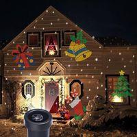 Wholesale Outdoor Christmas Landscape Decoration Moving Laser Projector LED Light Lamp