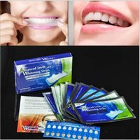 Wholesale FDA Approved Mint Flavor Elastic Gel D White Strips for Teeth Whitening