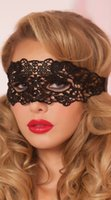 beautiful temptation - Only beautiful temptation sexy lace hollow out black mask Night club party queen mask sex products lingerie