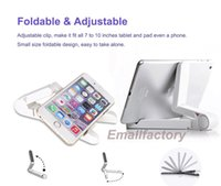 apple ipad tablet size - Adjustable Tablet Stand Portable Fold up Mini Size Holder For Inch Apple iPad Mini Air Samsung Galaxy Tab Andriod Tablet E Readers