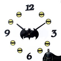 Wholesale Batman Fashion Creative Cartoon DIY Wall Clock