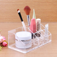 acrylic cabinet organizer - 2014 High Quality Cosmetic Organizer Makeup Drawers Display Box Acrylic Clear Cabinet Cases