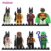 Unisex baby riddles - 2017 PG8046 Super hero Marvel Robin Riddles Commissioner Gord Bataman Dollar Building Blocks LEPIN Baby Toy As festival gift
