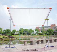 Wholesale 1 x1 m x6 x6 Butterfly Frame Detachable Kit diffusion White Silk