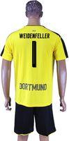 Short bender s - Dortmund Soccer Sets Weidenfeller Joo Ho Suboti Bender yellow and Black Colors Customerized Jerseys available