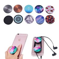 Wholesale Retail Package Color PopSockets Expanding Stand and Grip for Tablets Stand Bracket Cell Phone Holder Pop Socket M Glue for iPhone