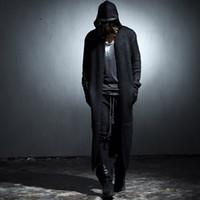 Acheter Noir cardigan tricoté-Nouveau pull-overs cardigan à manches longues noir couleur beige Pull à manches longues en coton Pull manches longues à manches longues