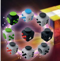Wholesale Puzzle Magic Fidget Cube Toys Desk Toy Stress Anxiety Relief Decompression Toy Fidget cube design KKA1244