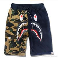 Wholesale Hot SaleShark Brand Clothing Shorts Men Harajuku Hip Hop Style Shorts Homme Gym Clothing Bermuda Masculina Basketball Gym Shorts