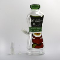apple juices - Glass water Pipes Spary Paint Can Dabuccino Rig Oil Rigs Minute Buds Apple Juice Coke Bottle joint mm